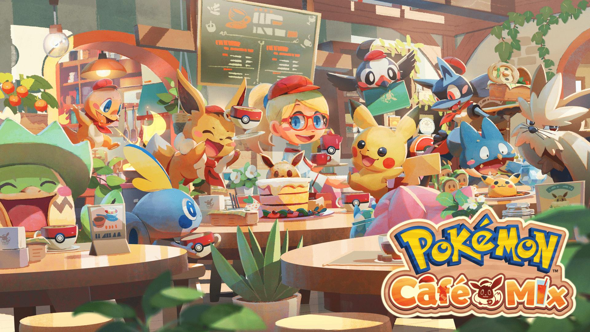 Pokemón Café Mix