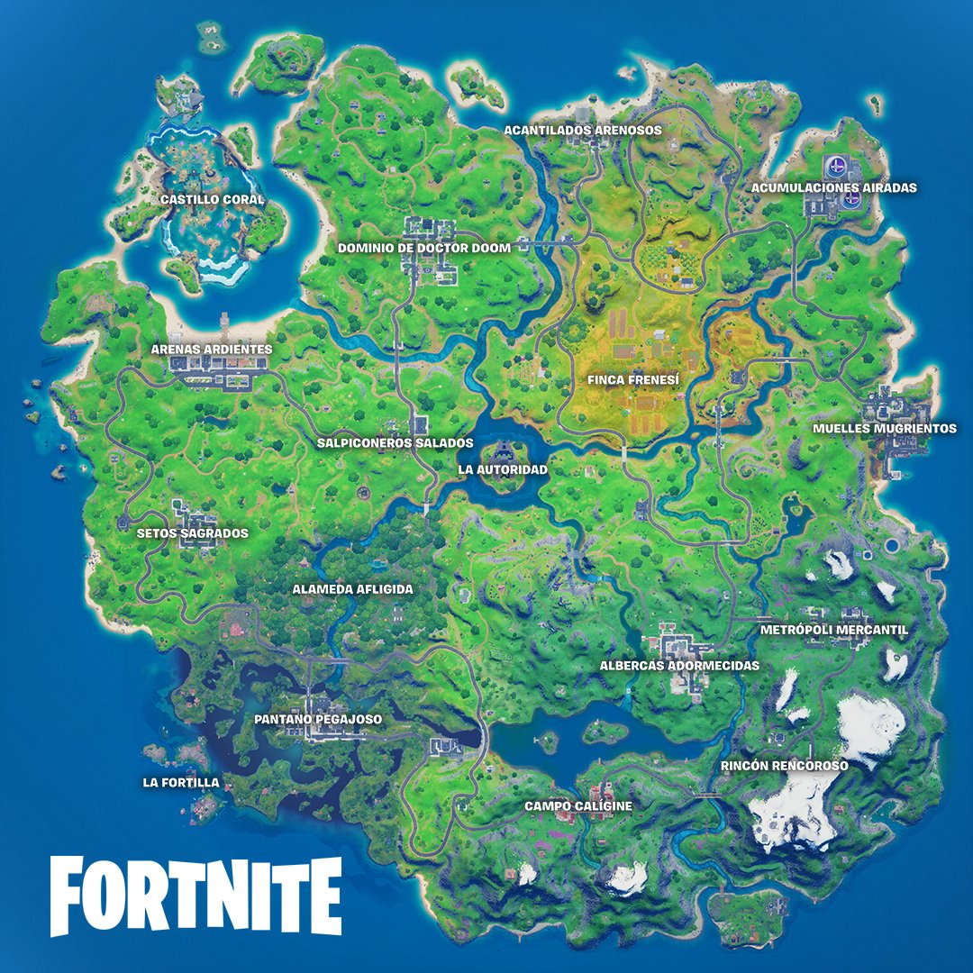 Fortnite temporada 4 nuevo mapa