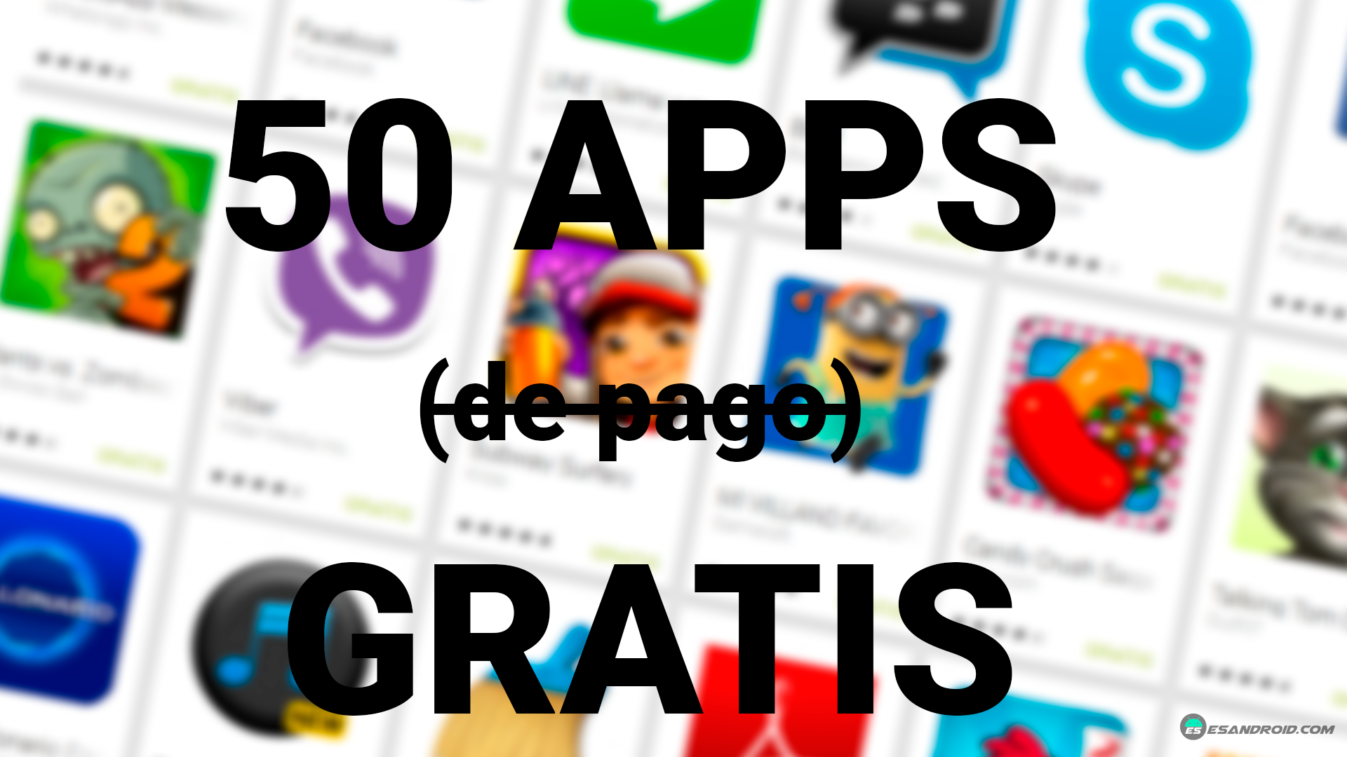 50 aplicaciones gratis