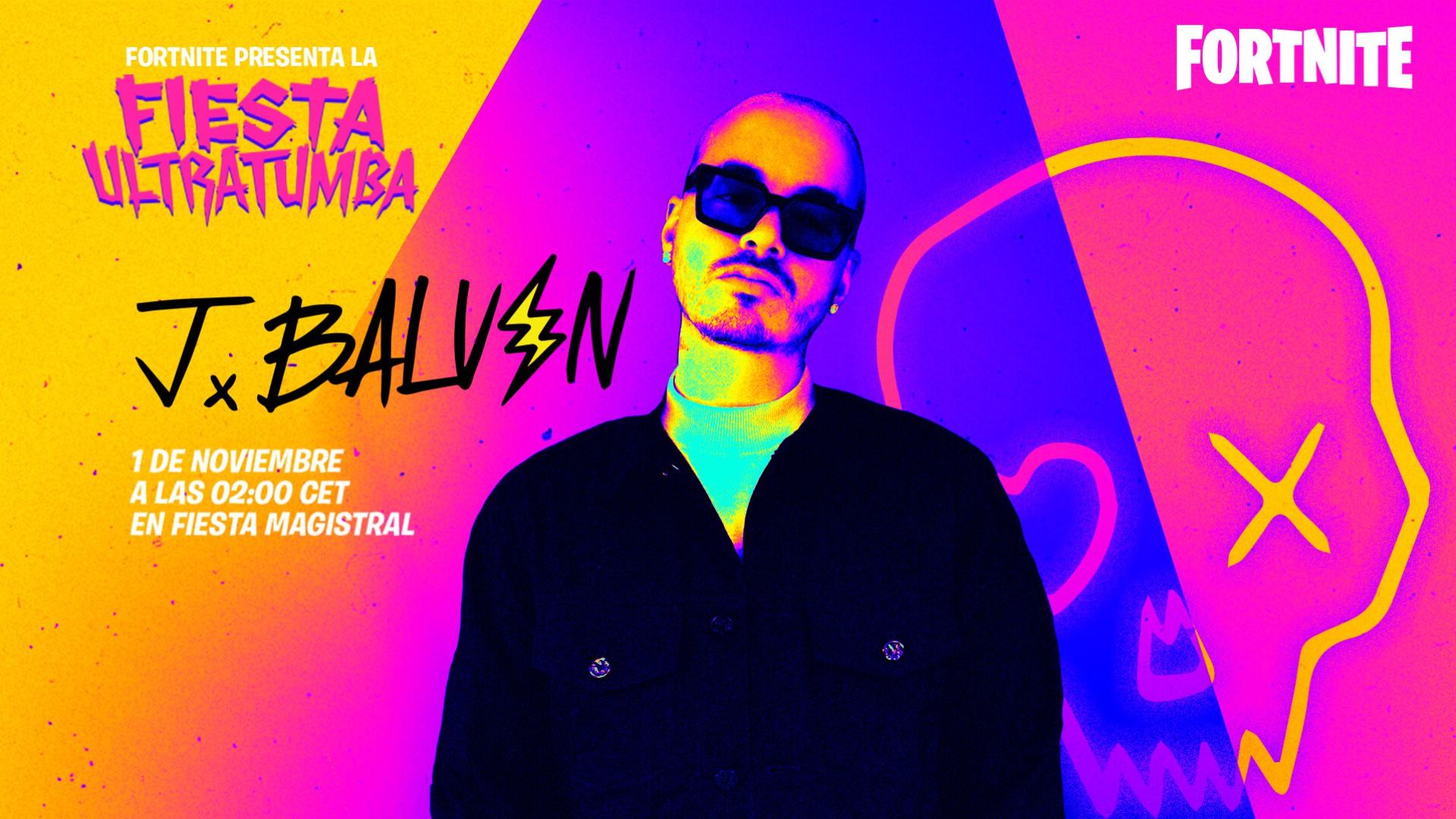 Fiesta Ultratumba JBalvin - Fortnitemares
