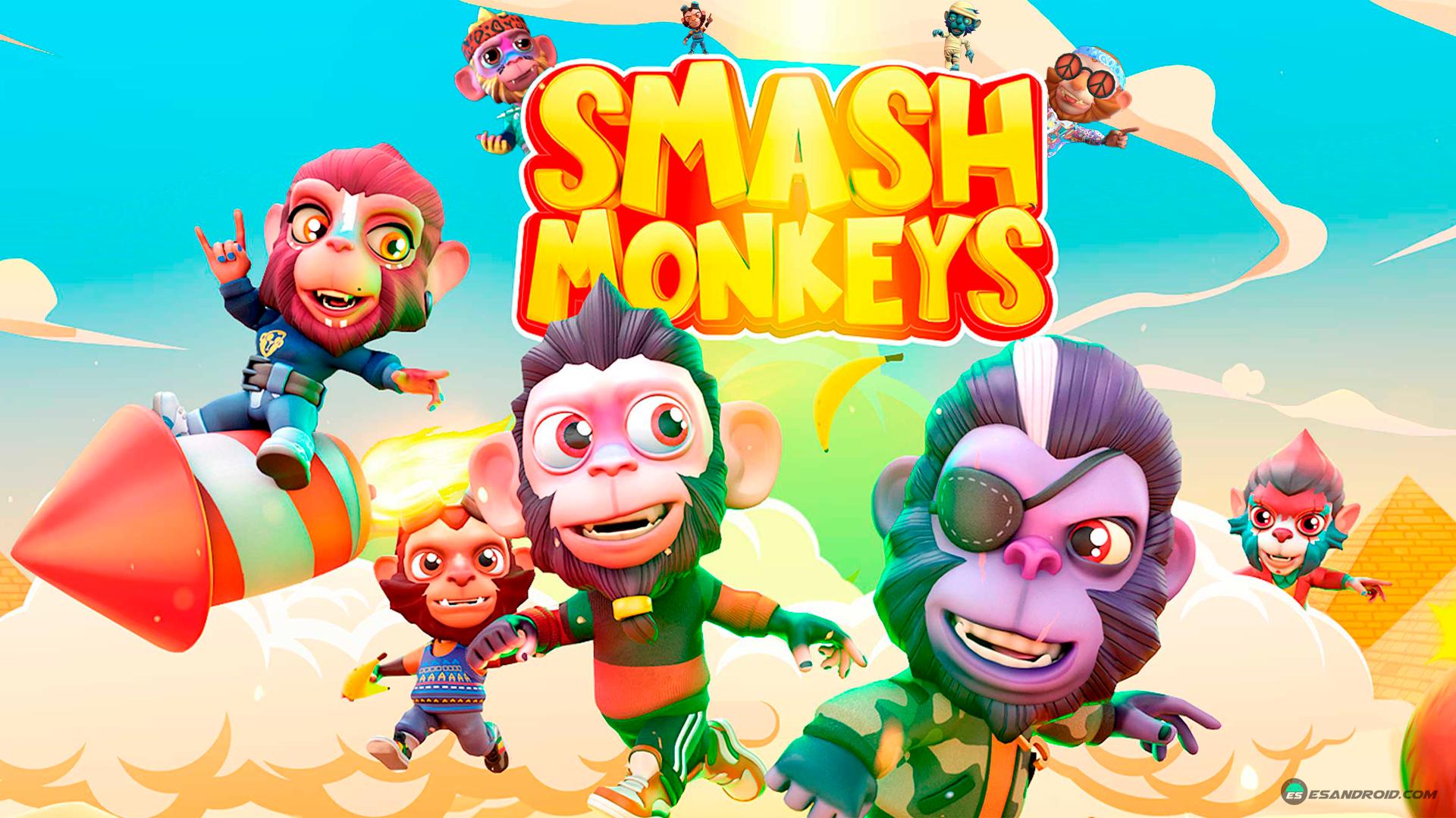 La beta de Smash Monkeys