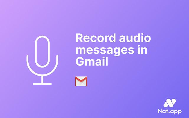 Cómo enviar audios en gmail al igual que WhatsApp